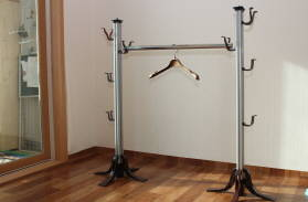 Build A Free Standing Coat Rack