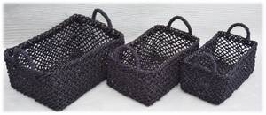 Wholesale seagrass: Set of 3 Seagrass Storage Basket