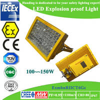 Sell Atex certified CREE chip  Meanwell driver  LED explosion proof light