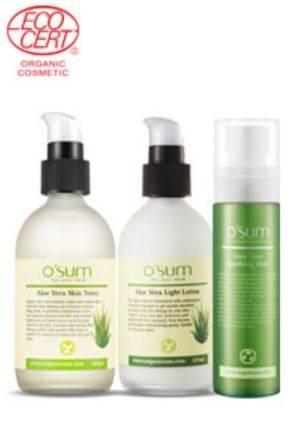 korea cosmetic: Sell - Skin Care, Organic OSUM Aloe Vera Line/ Cosmetics