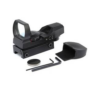 Wholesale rifle scope: Optic Rifle Holographic Reflex Red Green Dot Sight Scope with 4 Type Reticle for 20mm Rails