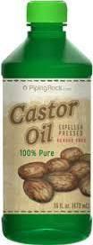 Wholesale oil expeller: Castor Oil 16oz Expeller Pressed