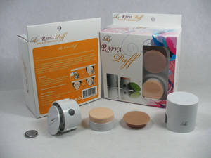 Wholesale Makeup Tool: 2-IN-1 Vibration Puff & Cleansing Puff