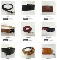Women Leather Wallet and Belt