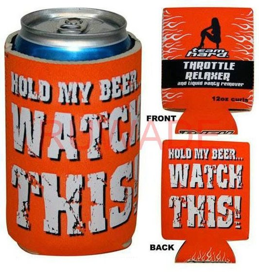 Neoprene Foldable Can Cooler Holder Koozie