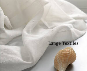 Wholesale wholesale sheer curtain: Export/Supplier of White Sheer Curtains Fabrics for Windows Home Decoration