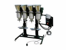 Wholesale color toner: WQ-TG40 Four Head Color Toner Filling Machine
