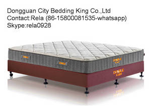 Wholesale mattress covers: Coral Fleece Covered Pocket Spring Mattress