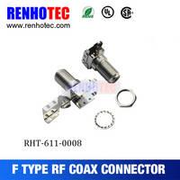 Sell Nickel plating CATV f connector