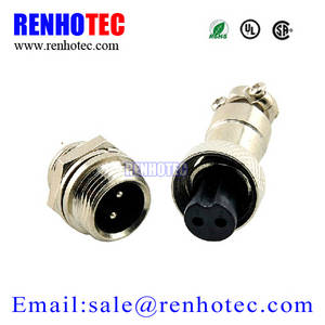 Wholesale 4 pin aviation connector: GX12 Waterproof Aviation Connector