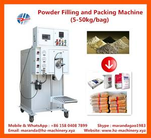 Wholesale automatic: 5-50 KG Automatic Weighing and Packaging Machine for Powder