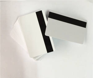 Wholesale Access Control Card: PVC Blank Blank Magnetic Stripe Card for Supermarkets, Hotels