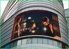 Wholesale cabinet display: Multi Color Arc LED Advertising Displays With Waterproof Cabinet For Shopping Mall Building