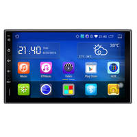 Android Car Multimedia Player with 2 DIN 7 Inch Touch Screen/RDS/Mirror/Built in Wifi/GPS Navigation