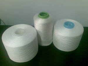 Wholesale Sewing Supplies: PolyCotton Core Spun Sewing Thread Raw White