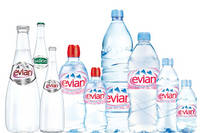 Evian Mineral Water,Mineral Drinking Water,Cristaline,