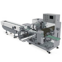 Bottom Film Roll Type Horizontal Flow Wrapping Machine with Rotary Motion Cutter Jaw