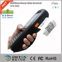 Sell Handheld Android mobile PDA data terminal with printer