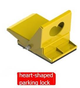 Wholesale car beauty: Heart-shaped Parking Lock