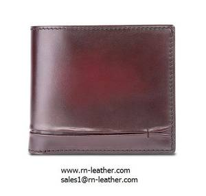 Wholesale wallets: Good Quality Vintage Unique Real Leather Credit Card Wallet for Men