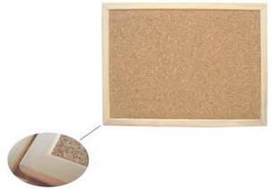 Wholesale bulletin board: Cork Notic Board/Bulletin Board in Wooden Frame