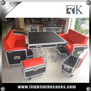 Wholesale sofa: RK Professional Sofa Flight Case with Wheels