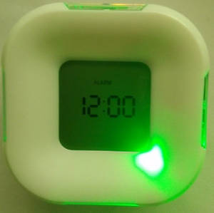 Wholesale gifts: Four Side Clock/Best Advertising Gift/Date&Time Display/Thermometer