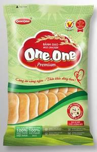 Wholesale cracker: One One Rice Cracker PREMIUM - Sweet Nature Flavor 150gr