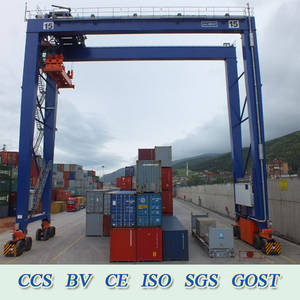 Wholesale crane rail: Rubber Tyre/Rail Mounted Container Gantry Crane