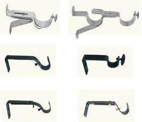 Wholesale curtain brackets: Curtain Rings and Brackets