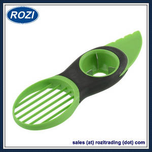 Wholesale Food Cutters & Slicers: Oxo Good Grips 3-IN-1 Avocado Slicer, Green