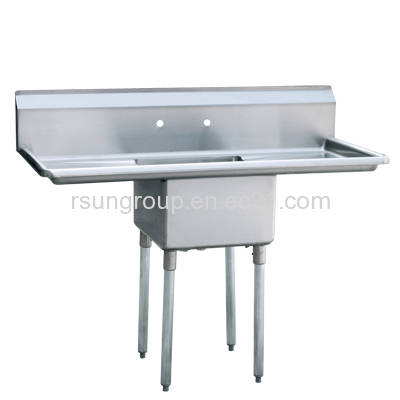 One Compartment Stainless Steel Commercial Kitchen Sink from Royal Sun ...