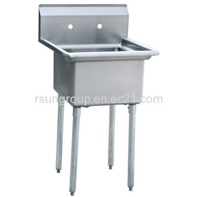 One Compartment Stainless Steel Commercial Kitchen Sink - Royal ...