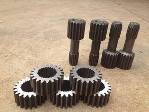 Wholesale stainless steel machinery equipment: Pinion and Gear Shaft