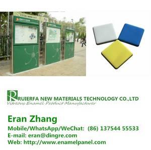 Wholesale Project Cooperation: Fireproof Vitreous Enamel Cladding Panel China Supplier Used for Subway Station Cladding PANELREF99