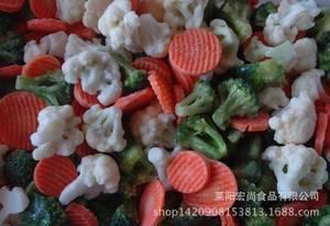 Wholesale frozen shiitake: IQF Mixed Vegetables