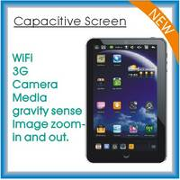 Capacitive 7 Inch Tablet PC with Android 2.2 Os