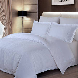 Wholesale duvet cover: Hotel White King and Queen Duvet/Doona Covers in Plain and Stripe