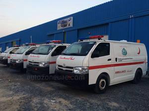 Wholesale ambulance: Toyota Hiace Ambulance