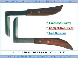 Wholesale manicure nippers: L Type Hoof Knife