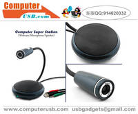 Computer Super Station Combo with Webcam Microphone Speaker