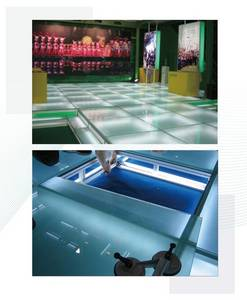 Wholesale adjustment system: Adjustable Platform Flooring System Exhibition Display