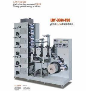 Wholesale flexographic printing machine: LRY-330/450 UV/IR Flexographic Printing Machine
