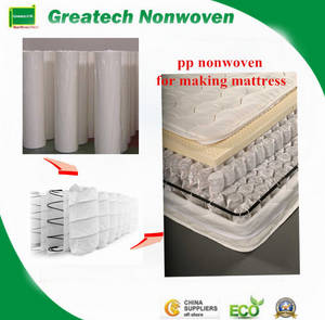 Wholesale sanitary face mask: PP Spunbond Nonwoven for Mattress