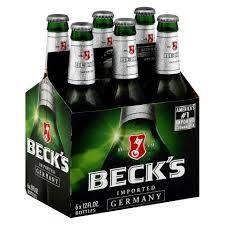 Wholesale budweiser btls: Becks Beer for Sale