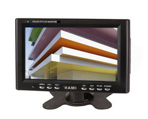 Wholesale car monitor: 7 Small and Portable Car LCD Monitor