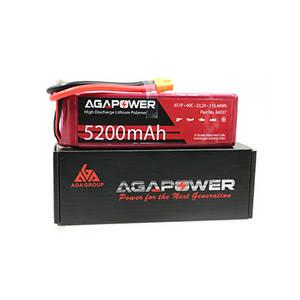 Wholesale Battery Packs: AGA5200/40-6s RC Lipo