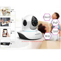 SunEyes P/T Indoor Wireless IP Camera (SP-FJ01W)