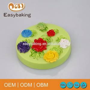 Wholesale Bakeware: Silicone Fondant Mold Soap Mold Silicone Mold for Cake Decorating