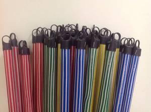 Wholesale Brooms & Dustpans: PVC Coated Wooden Broom Handle